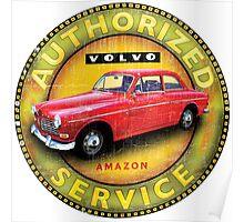 Volvo 121 122 Amazon Sweden Poster