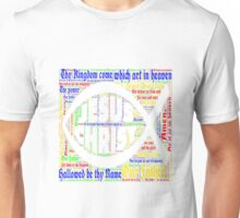 Jesus Christ Lords Prayer Fish Unisex T-Shirt