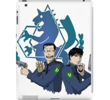 Roy Mustang and Maes Hughes FullMetal Alchemist iPad Case/Skin