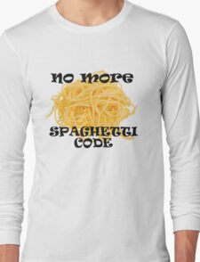 Spaghetti Code Long Sleeve T-Shirt