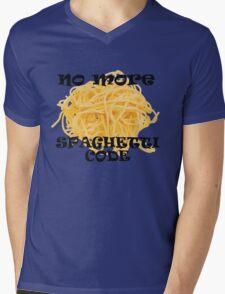 Spaghetti Code Mens V-Neck T-Shirt