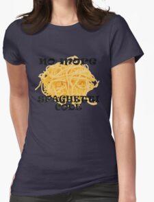 Spaghetti Code Womens Fitted T-Shirt