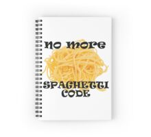 Spaghetti Code Spiral Notebook