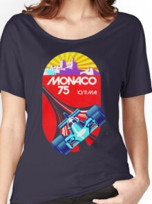grand prix monaco Women's Relaxed Fit T-Shirt