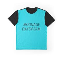 MOONAGE DAYDREAM #BOWIE Graphic T-Shirt