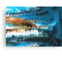 Blue Forest Shades Canvas Print