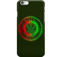 No Crime - 4.20 iPhone Case/Skin