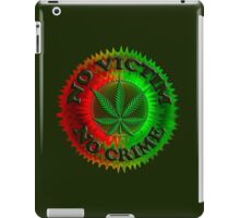 No Crime - 4.20 iPad Case/Skin