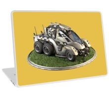 Futuristic Scout Vehicle Laptop Skin
