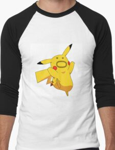 Pokemon: Pikachu :O Men's Baseball ¾ T-Shirt