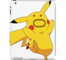 Pokemon: Pikachu :O iPad Case/Skin