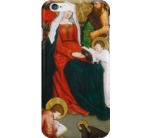 German, Saint Mary Salome and Her Family, iPhone Case/Skin