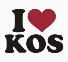 I love Kos Kids Tee