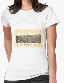 Bird's Eye View Map Morrisville Vermont (1889) T-Shirt