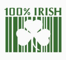 100% Irish St. Patricks Day Kids Tee
