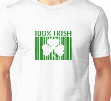 100% Irish St. Patricks Day Unisex T-Shirt
