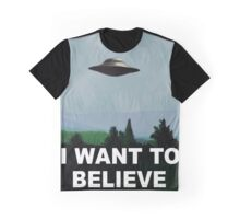 I want to believe x files Graphic T-Shirt