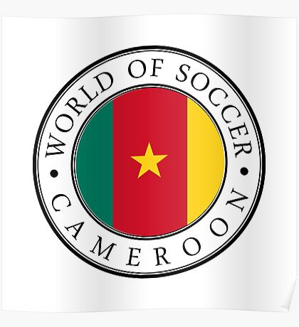 Cameroon soccer world Poster