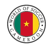 Cameroon soccer world Photographic Print