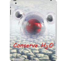 Water Conservation iPad Case/Skin