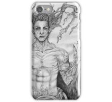 nature roots man iPhone Case/Skin