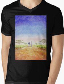 African Journey Mens V-Neck T-Shirt