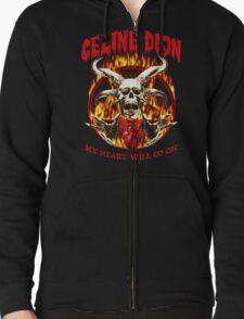 My Heart Will Go On - Metal Tshirt T-Shirt