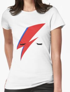 BOWIE ALADDIN SANE Womens Fitted T-Shirt