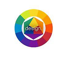 Design Colour Wheel Photographic Print