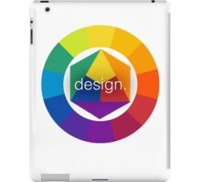 Design Colour Wheel iPad Case/Skin