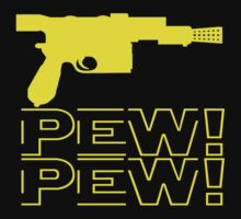 Pew Pew Lifestyle T-shirt by normallife