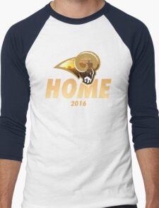 Rams Home Men's Baseball ¾ T-Shirt