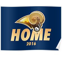 Rams Home Poster