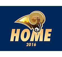 Rams Home Photographic Print
