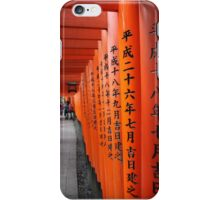 Japanese Toriis iPhone Case/Skin