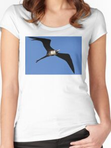 Lady in Flight Women's Fitted Scoop T-Shirt