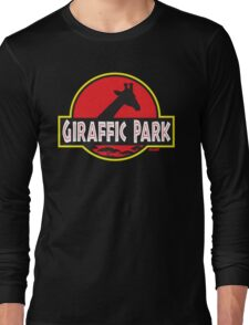 Giraffic Park Long Sleeve T-Shirt