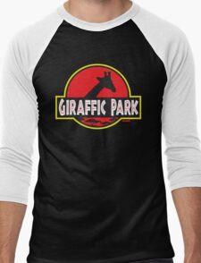 Giraffic Park Men's Baseball ¾ T-Shirt