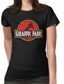 Giraffic Park Womens Fitted T-Shirt