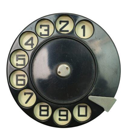 vintage dial disk Sticker