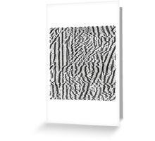 analog generated glitch #3 Greeting Card
