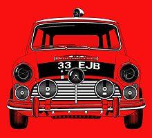 classic mini cooper  by davidsrounds
