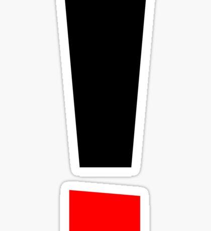 High Volume Sticker