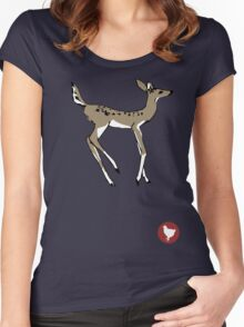 Max Caulfield - Doe & Badge Women's Fitted Scoop T-Shirt