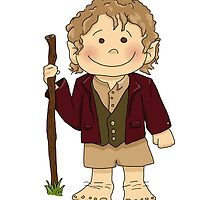 Bilbo Baggins going on an adventure! by paintingpanda