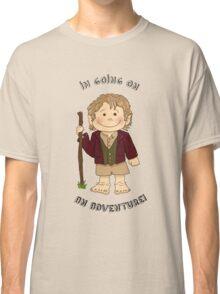 Bilbo Baggins going on an adventure! Classic T-Shirt
