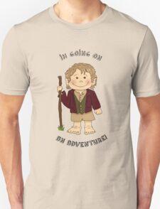 Bilbo Baggins going on an adventure! T-Shirt