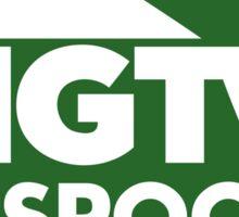 HGTV & Spoon :) Sticker