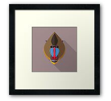 Mandril Framed Print