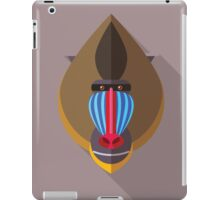Mandril iPad Case/Skin
